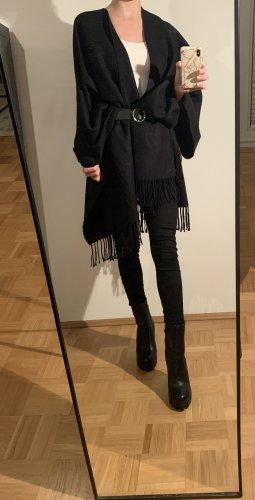 Asos Poncho en tricot noir