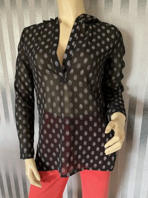 Shirt Tunic black-light grey