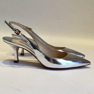 Neu Prada Schuhe silber Gr. 36