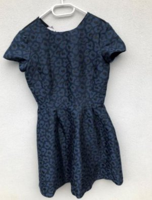 NEU Promod Kleid schwarz blau 38