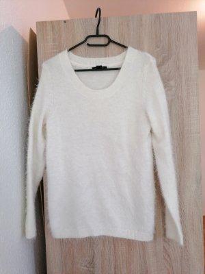Esmara Polarowy sweter biały