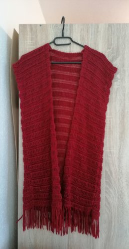unbranded Robe pull rouge foncé