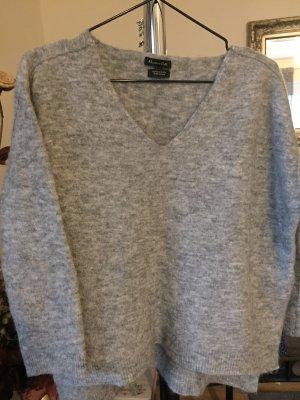 Neu Pullover Alpaca/Wolle Oversize