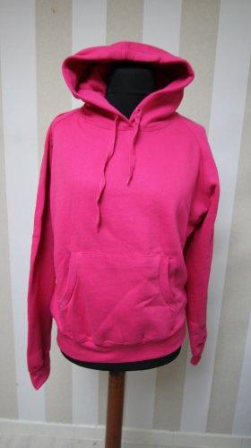 Maglione con cappuccio rosa