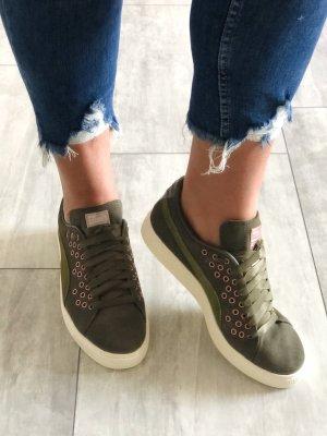 NEU • Puma • Sneaker • Lochnieten • Veloursleder