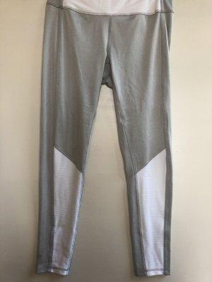 NEU Puma Sport Leggings grau/weiß