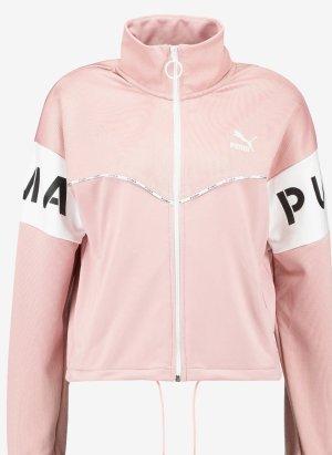 Puma Giacca sport bianco-rosa pallido