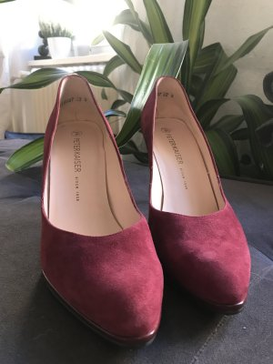 Peter Kaiser Pointed Toe Pumps purple