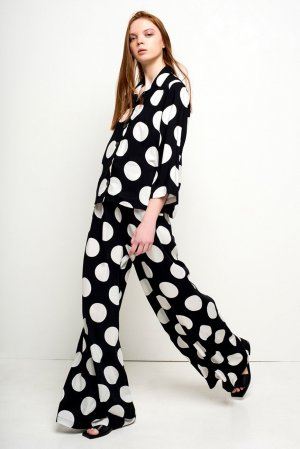 keine Pyjama zwart-wit