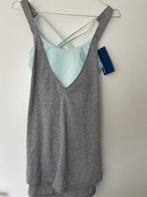 Reebok Sports Shirt light grey-light blue