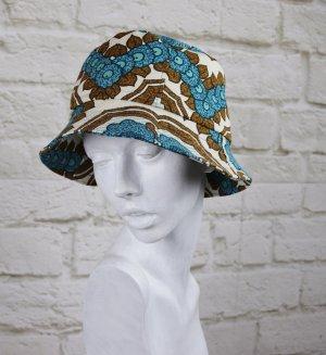 Cappello da pescatore multicolore Tessuto misto