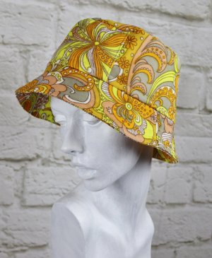 Sombrero acampanado multicolor Poliéster