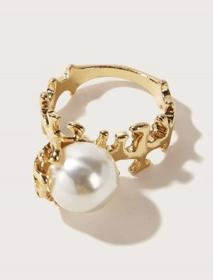 SheIn Gold Ring gold-colored
