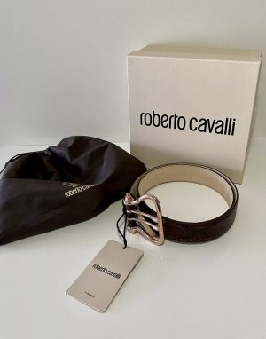 Roberto Cavalli Leather Belt brown