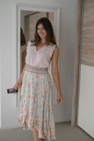 NEU Rock M boho ibiza bohemian rosa mint
