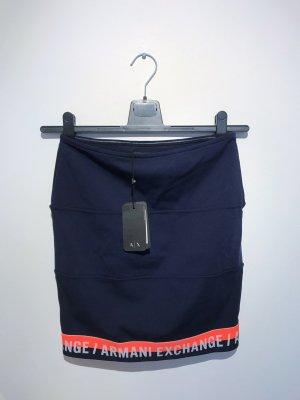Armani Exchange Jupe taille haute multicolore