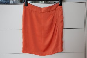 St-martins Mini-jupe orange polyester