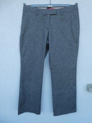 NEU – s.Oliver – Damen-Hose mit Fischgrätmuster, braun-grau