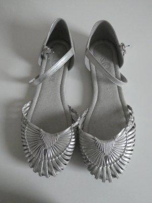 NEU – s.Oliver – Damen Sandale, silber metallic