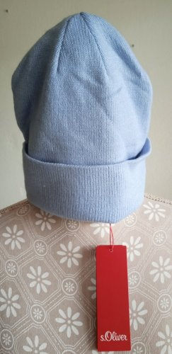 s.Oliver Knitted Hat azure
