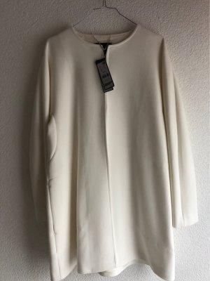 NEU s.oliver Premium Mantel weiß Größe 36