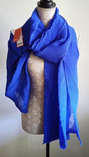 s.Oliver Summer Scarf blue-neon blue polyacrylic