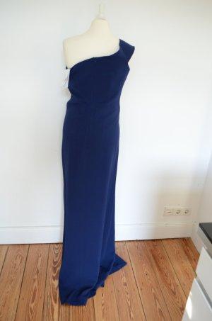 NEU! SAFIYAA UVP 1033,00 € High Society Kleid IT42 D36 blau Abendkleid