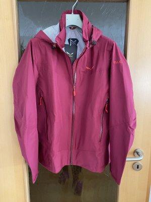 Salewa Outdoor Jacket magenta-purple