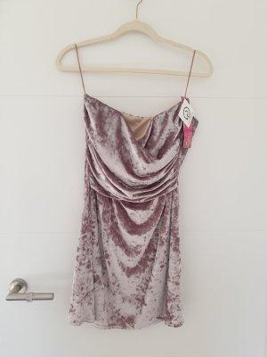 Neu: Samt Kleid