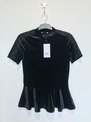 Zara Top taille empire noir