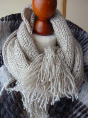 Handmade Écharpe en tricot multicolore laine