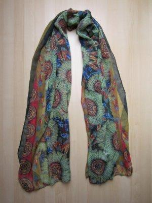 NEU: Schal mit Feder-Muster