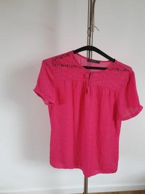 Neu schicke Esprit Bluse in Pink Gr 36