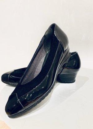 ara Wedge Pumps black leather