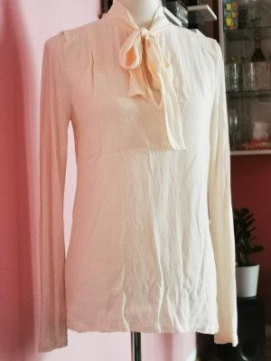 Max & Co. Blusa collo a cravatta beige chiaro-color carne