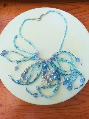 Hand made Collier de perles multicolore