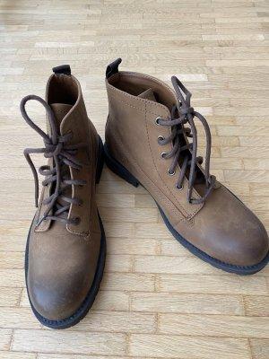 Ben Sherman Low boot bronze-gris brun cuir