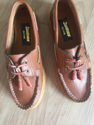 Sailing Shoes brown-cognac-coloured