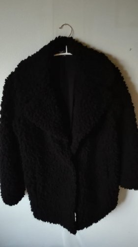 Marc Cain Fur Jacket black