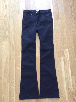 Neu, schwarze Jeans, Boot cut, Schlagjeans, H&M, Gr. 36/S