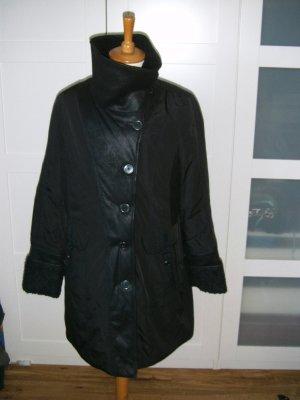 neu, schwarzer Mantel, Wintermantel, Bonita, Gr. 42