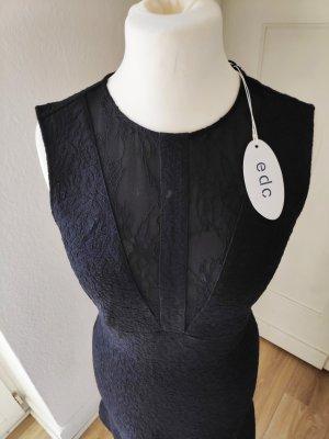 Esprit Sukienka z wycięciem czarny