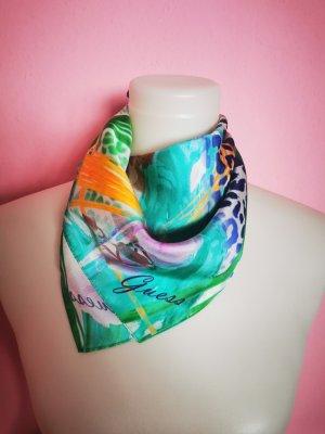Guess Fazzoletto da collo multicolore Tessuto misto