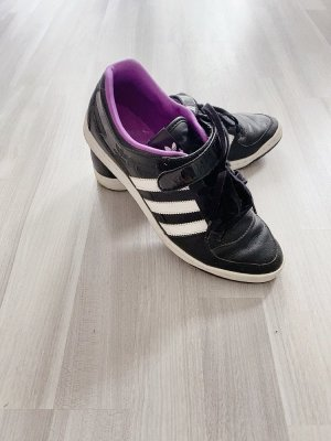 Adidas Originals Basket hook-and-loop fastener multicolore cuir