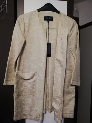 Armani Jeans Long Jacket gold-colored-cream