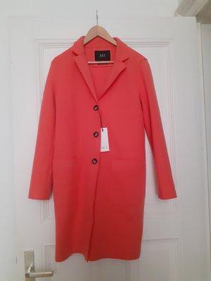 Set Manteau en laine rouge laine