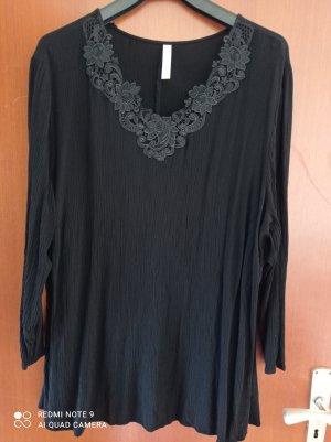 Sheego Bluzka tunika czarny