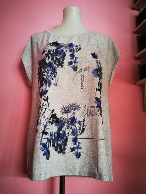 *NEU* Shirt in grau mit Blumen (K3)