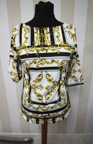 Camicia a tunica nero-bianco