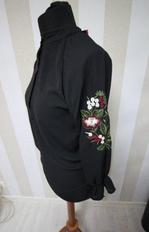 NEU Shirt Tunika Bluse Blumen Flowers